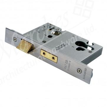 Euro Profile Sash Lock - SSS (Various Sizes)