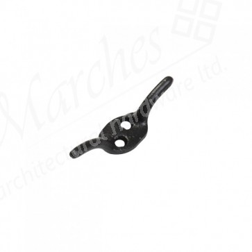 Cleat Hook - Black - Various Sizes