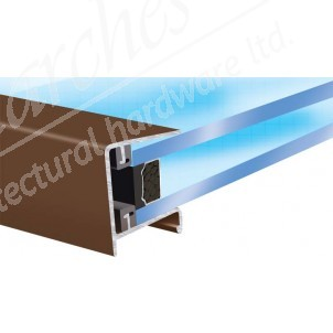 Exitex - Aluminium Roof Endclosure Brown - Various Sizes