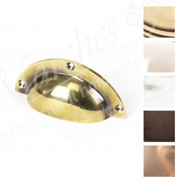 """Period 4"""" Plain Pull - Various Finishes"""