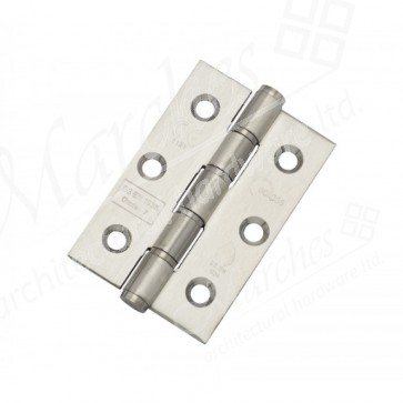 """3"""" Eclipse Washered Butt Hinges (pair) - Stainless Steel"""