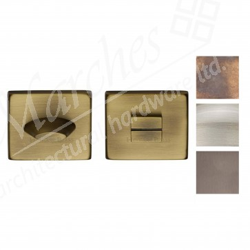 Square Bathroom Turn and Release - Various Finishes