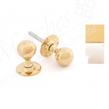 Ball Mortice Knob Sets - Various Finishes