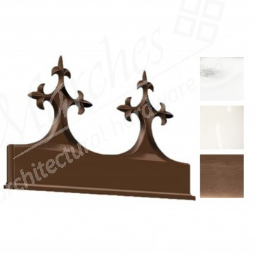Exitex - Aluminium Victorian Crest - Various Finishes