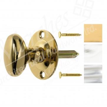 Oval Thumbturn / Rackbolt - Various Finishes
