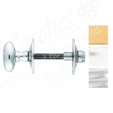 Oval Star Bolt Thumbturn & Release - Various Finishes