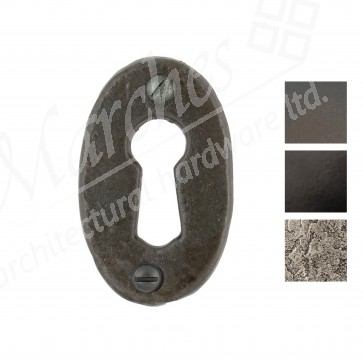 Oval Escutcheon - Various Finishes