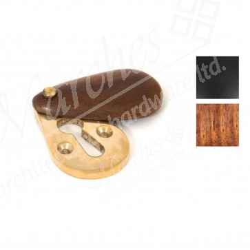 Plain Covered Escutcheon - Various Finishes