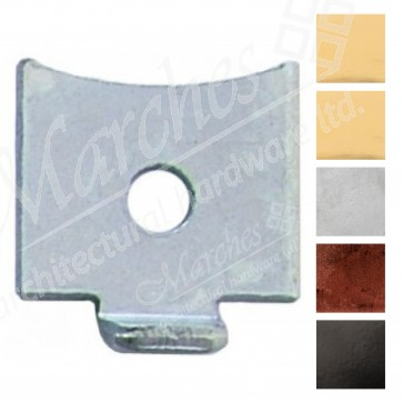 Single Stud for Flat Bookcase Strip - Various Finishes