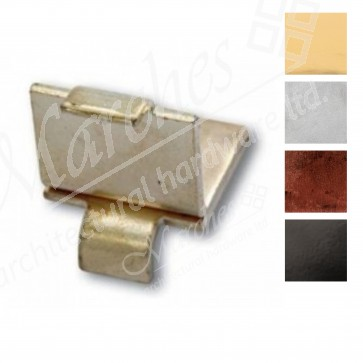 Heavy Duty Stud for Flat Bookcase Strip - Various Finishes