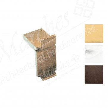 """Double Studs for """"U"""" Section Bookcase Strip - Various Finishes"""