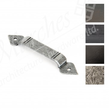 Screw on Staple Gothic End - Various Finishes