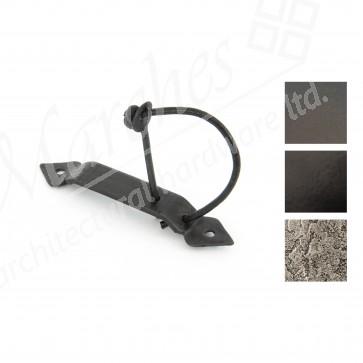 Locking Gothic Screw on Staple - Various Finishes