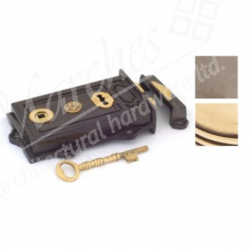 Davenport Rim Lock - Various Finishes