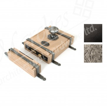 Oak Box Lock - Various Finishes