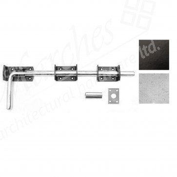"""18"""" Drop Bolt - Various Finishes"""