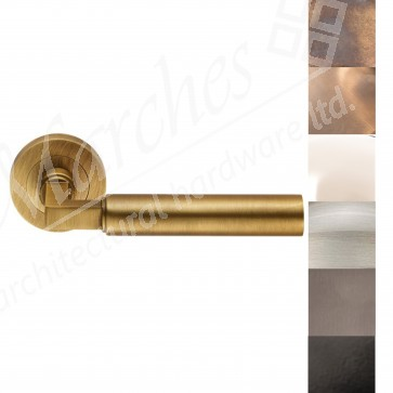 Amiata Lever on Rose Handles - Various Finishes