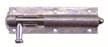 "6"" Galvanised Straight Bolt"