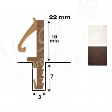 Straight 15mm Rebate Seal - 50m