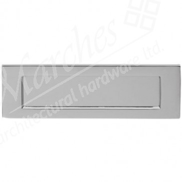 Letter Plate - Satin Chrome