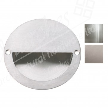 Flush pull handle 90mm diameter - Various Finishes