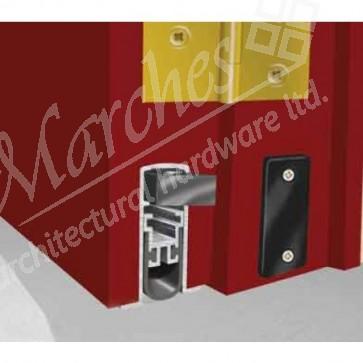 Exitex - Concealex 1001 (smoke/fire door) - Aluminium