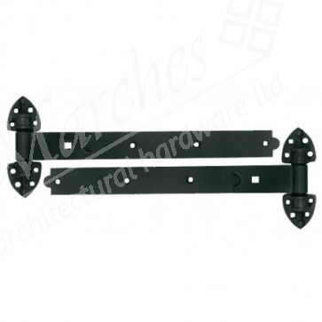 Reversible Hinges with Cups - Epoxy Black