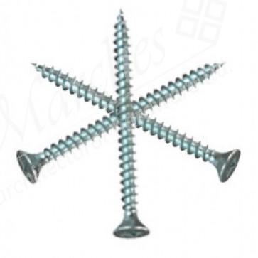 3mm (Gauge 6) Zinc Pozi Screws (length 13-35mm)