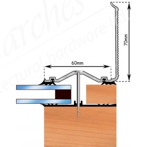 Exitex - Capex 60 Wall Flashing Profile + Rag 55 - Various Lengths & Finishes