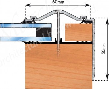 Exitex - Capex 60 Gable End Profile + Rag 55 - Various Lengths & Finishes
