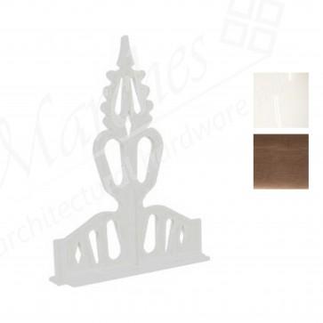 Exitex - Plastic Regency Crest - Various Sizes & Finishes