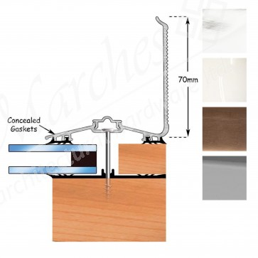 Exitex - Capex 70 Wall Finishing Profile + Rag 55 - Various Lengths & Finishes