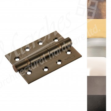 """4"""" Fire Rated Ball Bearing Butt Hinge (PR) - Various Finishes"""
