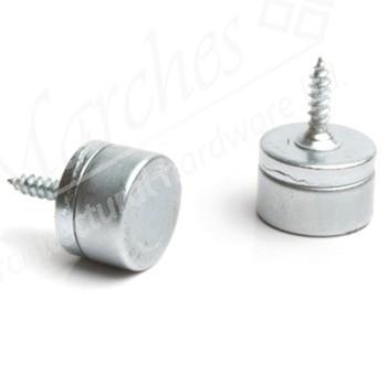 Elite Magnetic Catch 2kg Pull (Pack 5) - Nickel