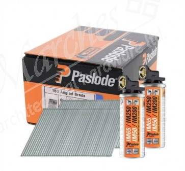 Paslode IM65A Angled Galv Brad Nails (16G) - Various Sizes