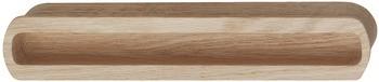 Inset Handle 210mm - Oak
