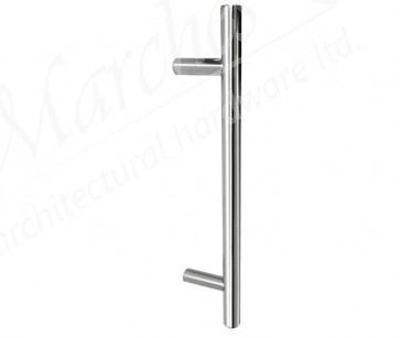 19mm DIA Pull Handle 225mm Centres - SSS