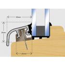 Posilok 32mm Window Trim 3m - Mill