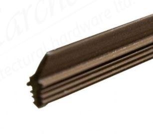 Standard Weather Strip 2.4m - Brown