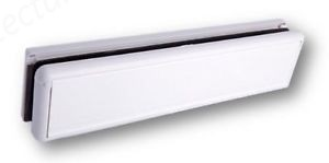UPVC Letterbox 266mm x 70mm  - White