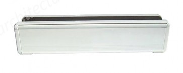 White UPVC Letterbox 300 x 70mm