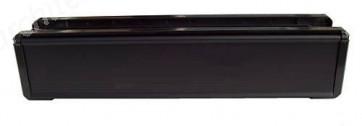 Black UPVC Letterbox 305 x 70mm