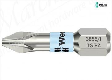 3855/1 TS Pozidriv Torsion Stainless Steel Insert Insert Bit 25mm