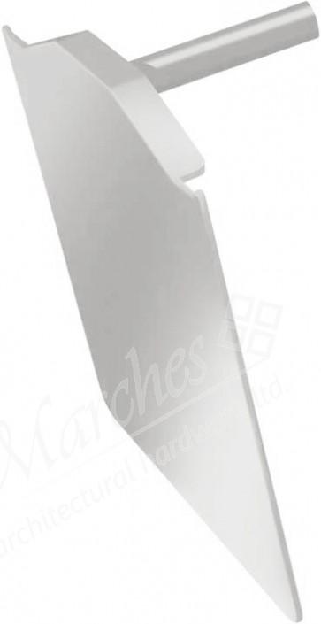 Exitex CSD Extended End Cap PVC - White