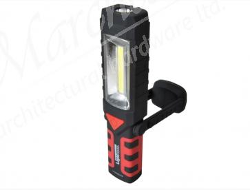 XMS18COB120 L/HOUSE 220 Lumens Swivel Light and Torch