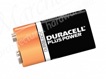 XMS189VBAT DURACELL Twin Pack of 9V Batteries