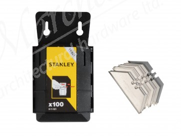 XMS18BLAD100 Stanley Knife Blades (200 for the price of 100)