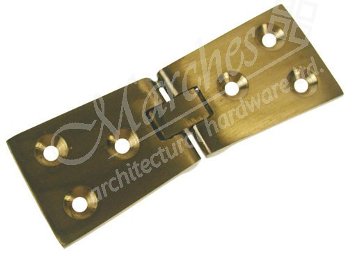 Counter Flap Hinge 102mm x 40mm x 2mm (pair) - Polished ...