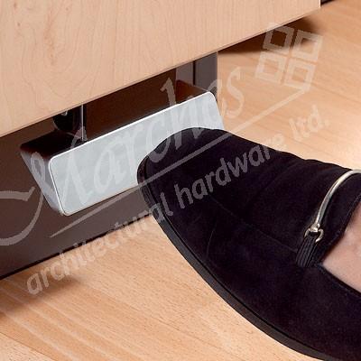 Foot Operated Door Opener Device Waste Bins Kitchen