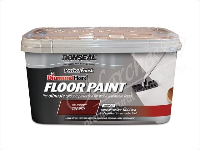 Diamond Hard Garage Floor Paint Slate 5 Litre Floor Tile